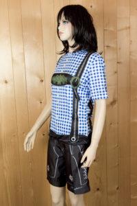 Freizeitbekleidung Damen blauschwarz Set