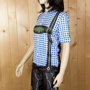 Freizeitbekleidung Damen blauschwarz Trikot