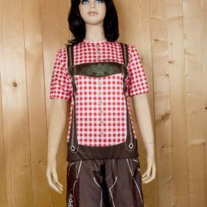Freizeitbekleidung Damen rotbraun Set