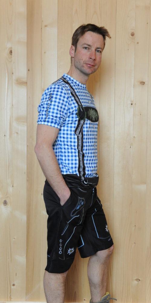 Freizeitbekleidung Herren blauschwarz Hose