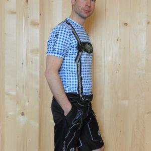 Freizeitbekleidung Herren blauschwarz Set