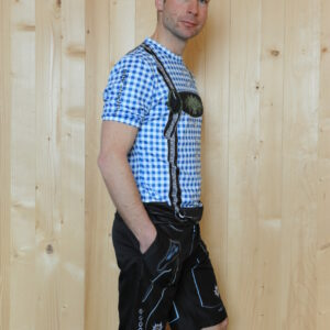 Freizeitbekleidung Herren blauschwarz Trikot