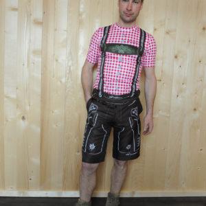 Freizeitbekleidung Herren rotbraun Hose