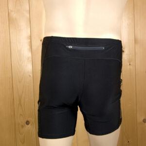 Laufbekleidung Herren blau-schwarz Hose