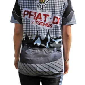 Radbekleidung Damen Freeride Trikot