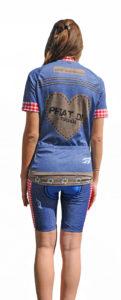 Radbekleidung Damen Jeans Set