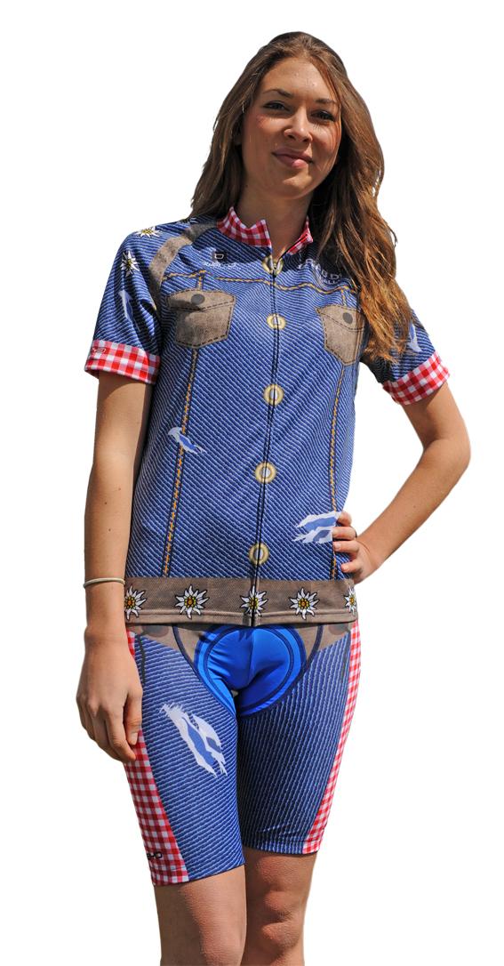 Damen Trikot Jeans - Radbekleidung