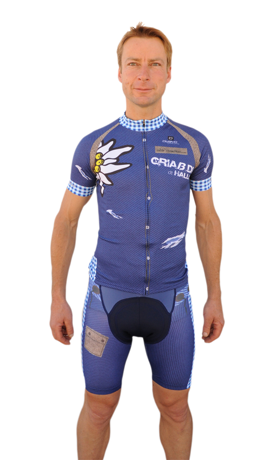 Radbekleidung Herren Jeans Trikot
