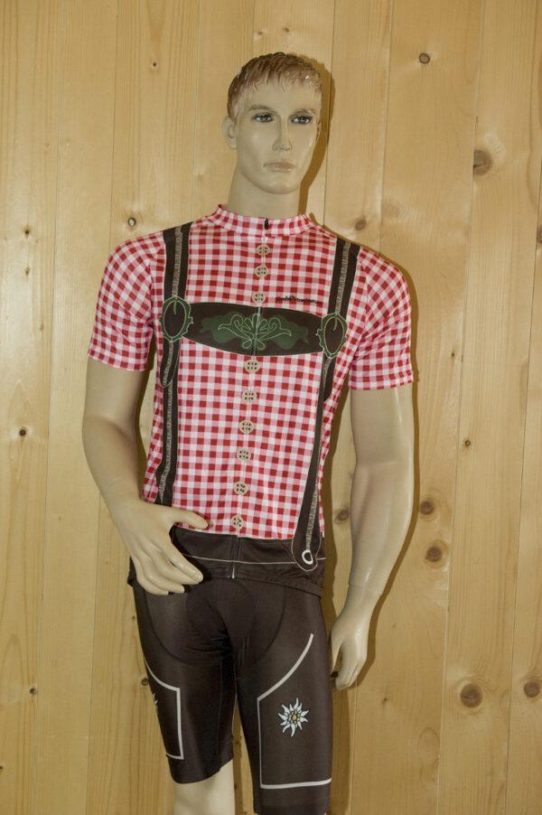 Radbekleidung Herren rotbraun Hose