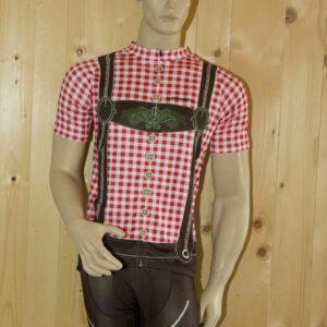 Radbekleidung Herren rotbraun Set