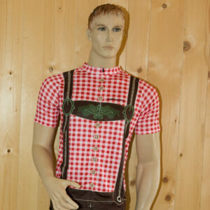 Radbekleidung Herren rotbraun