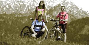 MTB-Trachten Radbekleidung
